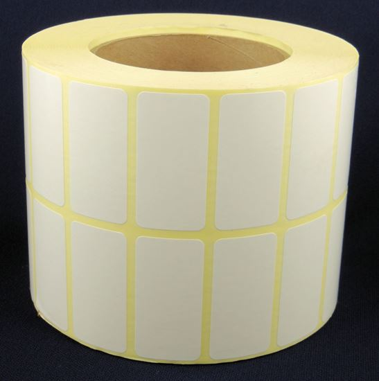 Picture of 50mm x 25mm Blank Paper Labels