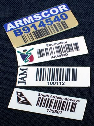 Aluminium IT Asset Tags