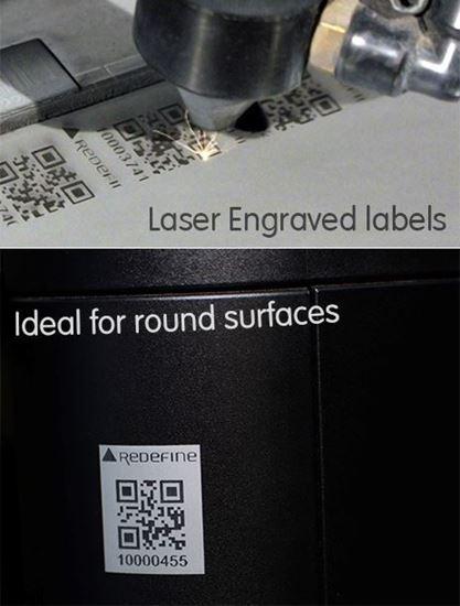 Tesa Tamper evident Barcode asset labels